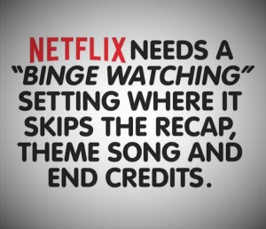 What Show Is Your NetFlix Binge? by 200 Saturdays Until Paris